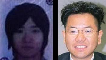 重田みつとき氏と重田康光氏の顔写真の比較画像