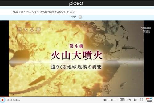 NHKスペシャル_巨大災害<地球大変動の衝撃>第4集火山大噴火_迫りくる地球規模の異変(スマホ版動画Pideo)画像