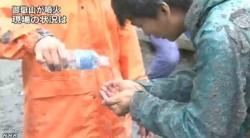 御嶽山噴火_下山者「煙が上がり 周囲はパニックに」(NHKニュース)画像4
