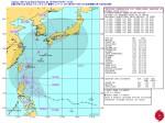 米海軍台風16号進路予想図_警報ナンバー2(日本時間 9月18日06時)