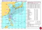 米海軍台風16号進路予想図_警報ナンバー4(日本時間 9月18日18時)
