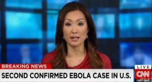 CNNブレーキングニュース_エボラ出血熱二次感染_10月12日_画像1