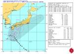 台風18号_米海軍進路予想-警報No.24(日本時間10月5日00時)