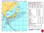 台風18号_米海軍進路予想-警報No.25(日本時間10月5日06時)