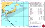 台風18号_米海軍進路予想-警報No.27(日本時間10月5日18時)
