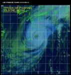 台風18号衛星写真_日本時間10月5日08時32分