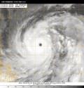 台風19号衛星写真_10月8日18時01分JST