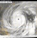 台風19号衛星写真_10月9日06時01分JST