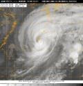 台風第19号(ヴォンフォン)衛星写真(11日18時01分JST)