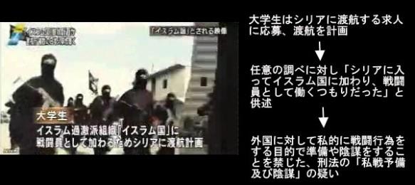 複数の日本人「イスラム国」に参加計画か(NHKニュース10月6日19時06分)画像3
